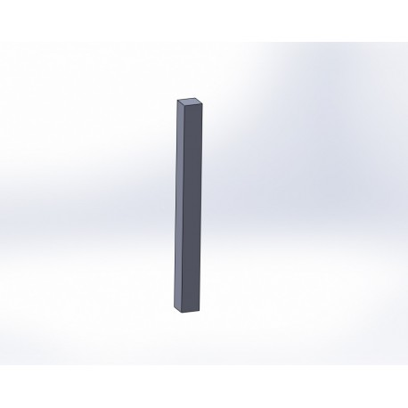 Poteau 150x150mm à sceller