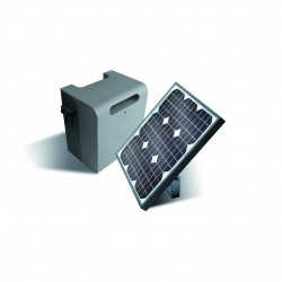 Alimentation solaire pour portail