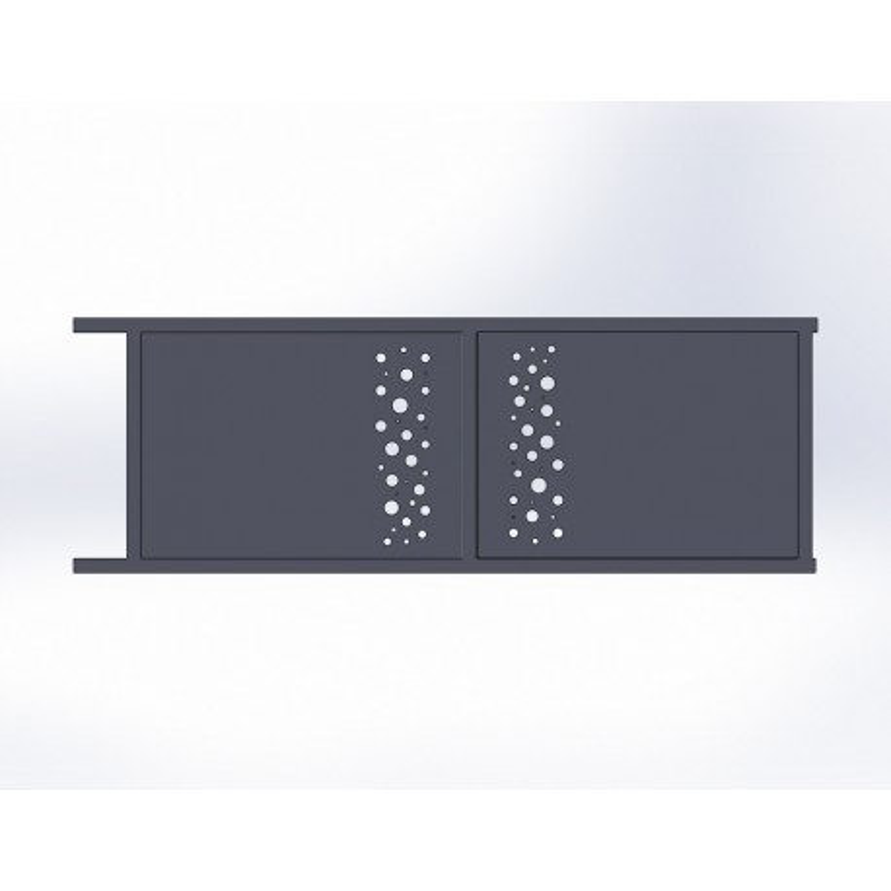 Portail de maison en aluminum