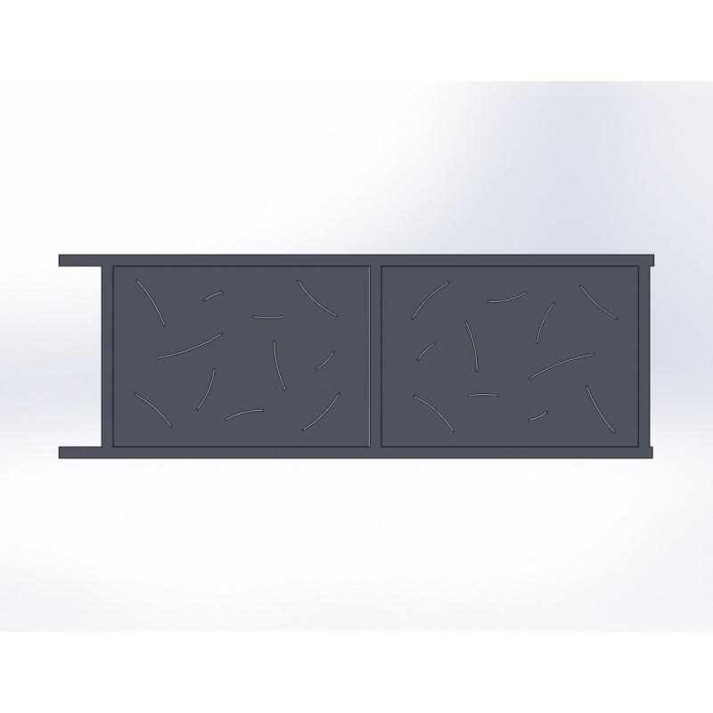 Portail Coulissant En Aluminium Facile à Monter Et Livré Chez Vous