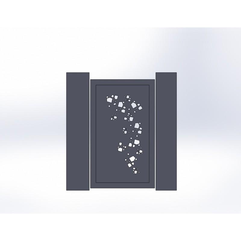 Portillon en aluminium