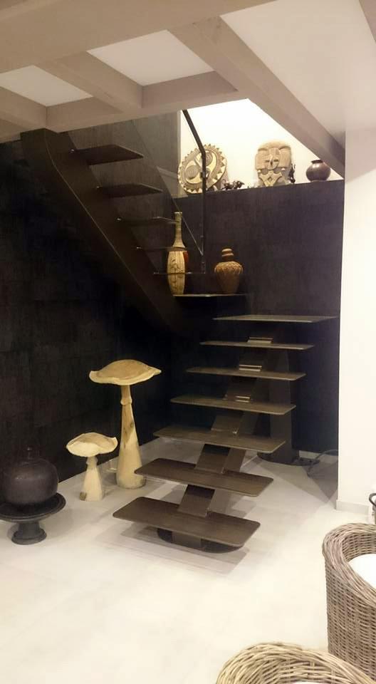 escalier id metal. Black Bedroom Furniture Sets. Home Design Ideas